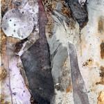 Gamid Ibadullayev, Bez tytułu, technika mieszana, płyta, 125 x 65 cm, 2016, cena: 3200 zł