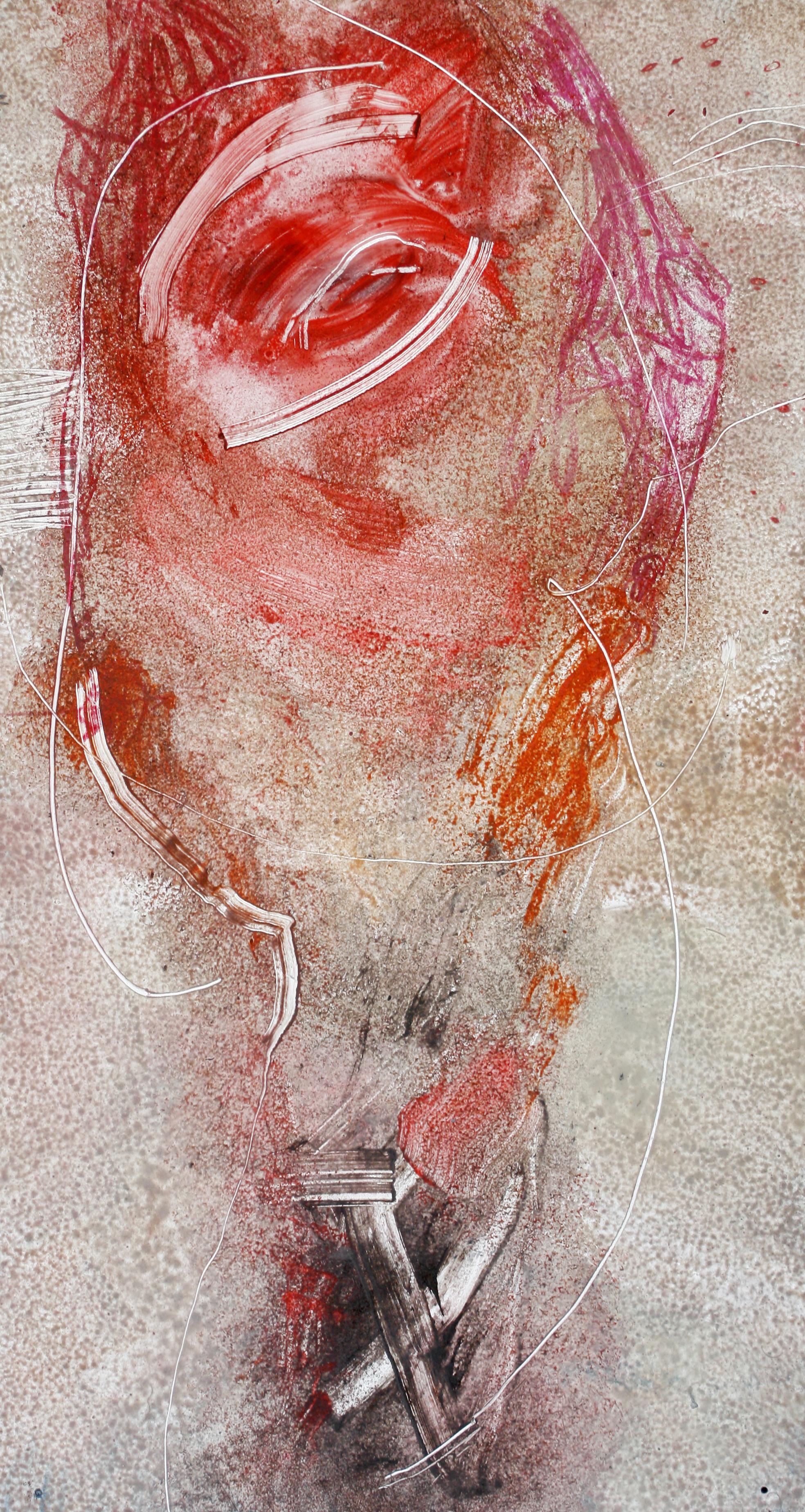 Gamid Ibadullayev, Bez tytułu, akryl, płyta, 125 x 65 cm, 2016, cena: 3400 zł