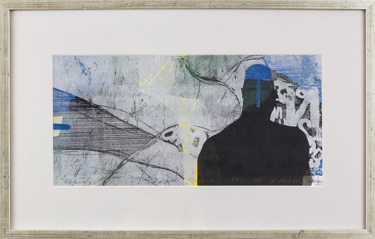 Katarzyna Pietrzak, 'Brandys', offset, etching, 29,5 x 47,5 cm, 2012, cena: 900 zł