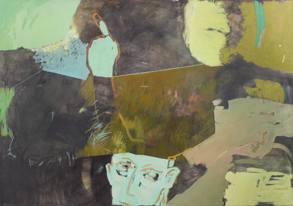 Paweł Podlewski, olej na płótnie, 70 x 100 cm, cena: 2 200 zł