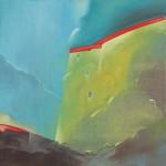Paweł Podlewski, untitled, olej na płótnie, 65 x 65 cm, cena: 1 500 zł
