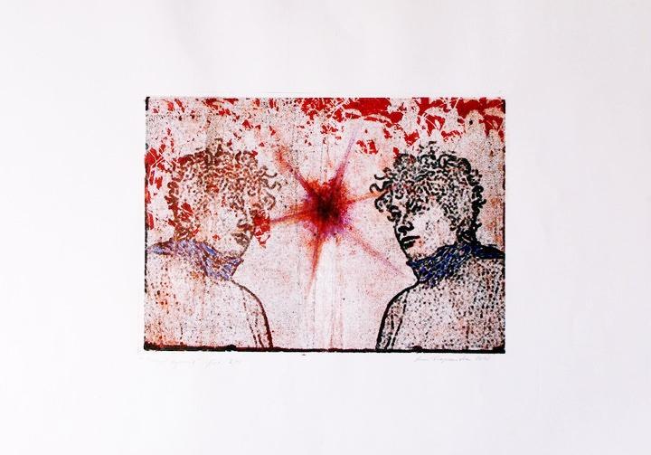 """Anu Trzepańska, """"Pomyśl życzenie"""", offset na papierze, 28 x 38 cm, cena: 430 zł"""